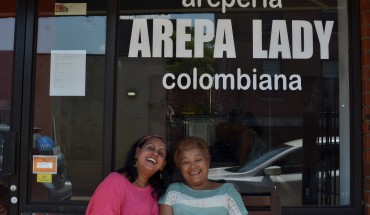 Auria Abraham and Maria  Cano - Photo by Lily Chin, lilychin.info