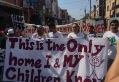 anti deportation banner